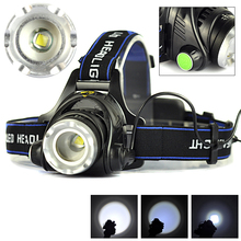 High Quality 2000LM XM-L T6 LED Zoomable Headlight 3Modes Outdoor Bike Bicycle Camping Flashlight Head Light(China (Mainland))