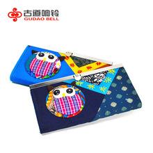 Random color money bag purse national creative handmade cloth animal wallet money money clip patchwork owl cartoon wallet cute(China (Mainland))