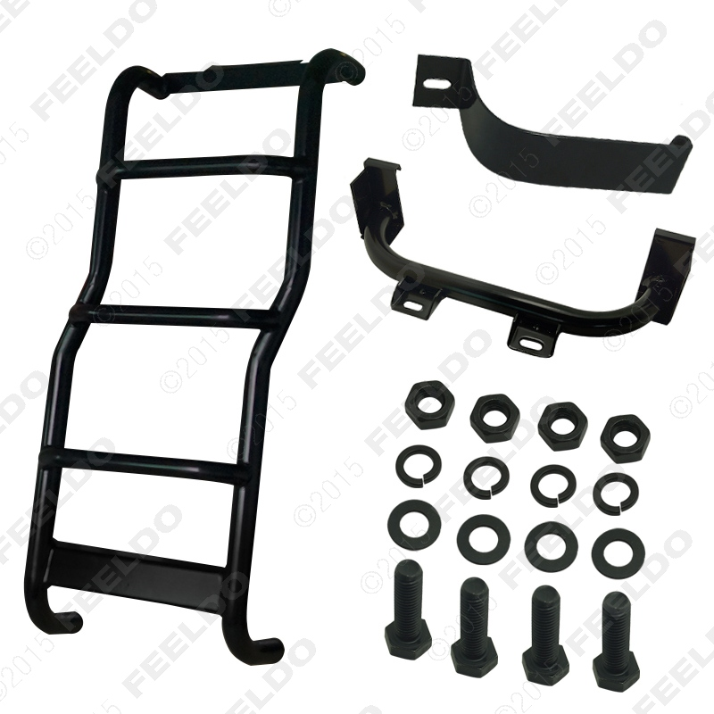 1set Rear Step Access / Roof Ladder / Rear door Ladder FIT For Land Rover Discovery3 Discovery4 LR3 LR4(2005-15) J-5349(China (Mainland))