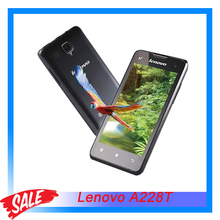 "Original Lenovo A228T 4.0"" Capacitive Screen Android 2.3 Smartphone SC8830 Quad Core 1.2GHz RAM 256MB+ROM 512MB GSM Dual SIM"