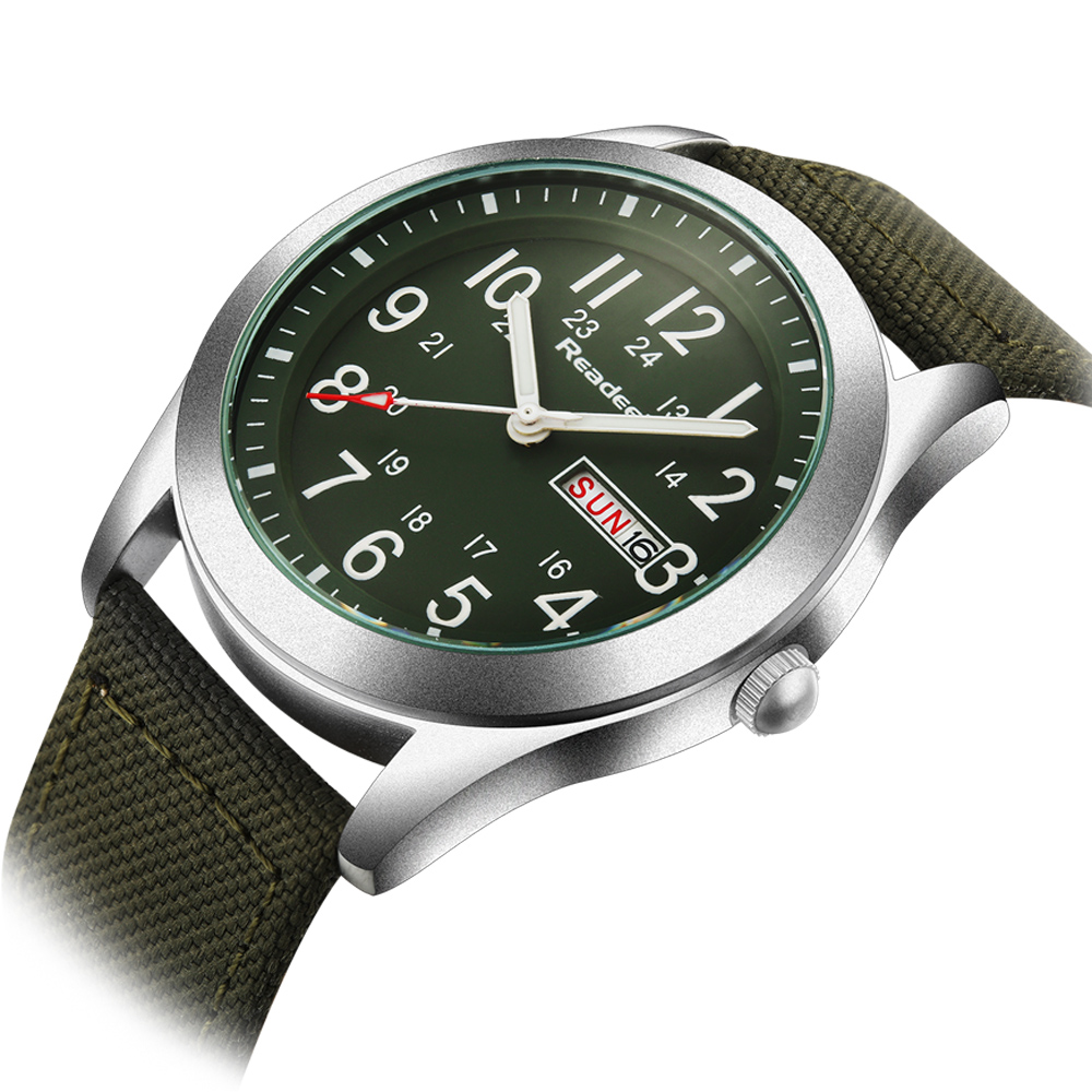 relogio masculino esportivo Male Watches Men Quartz Men Outdoor Army Sport Watch Man Canvas Clock Men Sports Watches reloje(China (Mainland))