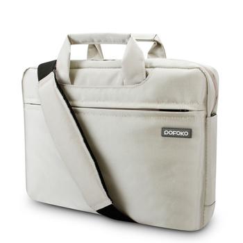 Pofoko марка 13.3 14 15.6 дюймов мужчины женщины ноутбук ноутбук сумка для Apple Macbook Air Pro сетчатки 13 15 плеча