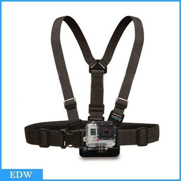 Гаджет  Gopro Accessories Chest Belt Adjustable Chest Mount Harness Chesty Strap for SJ4000 GoPro HD Go Pro Accessories hero 1 2 3 GP27W None Бытовая электроника