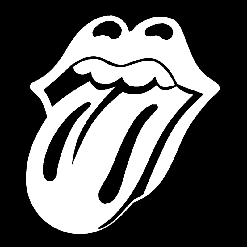 """""""Lips and Tongue Rolling Stones car window sticker vinyl decal funny JDM and all the smooth surface """"(China (Mainland))"""