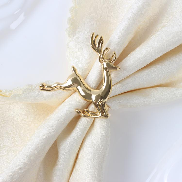 20pcs Lot Fashion Exquisite Fashion Deer Napkin Ring