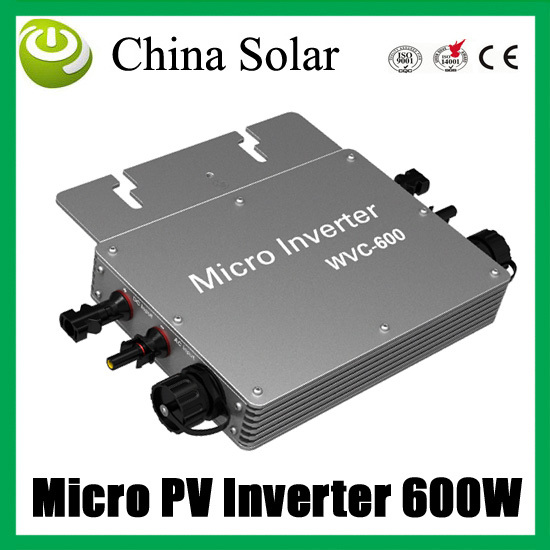 600W Soalr Inverter / Converters Solar Micro power inverter PV Inverter with MPPT(China (Mainland))