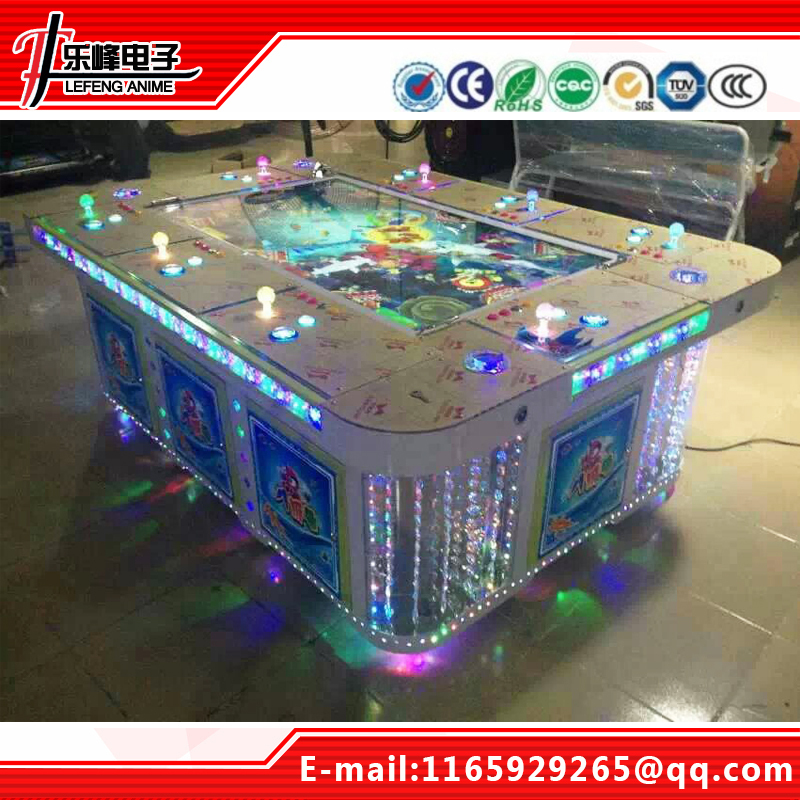 arcade fishing game /casino arcade video game /maquinas de video juegos/8 players fish machines/shooting arcade/Gambling arcade(China (Mainland))