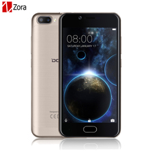 Buy Doogee Shoot 2 Dual camera mobile phone 5.0 Inch HD 2.5D IPS MTK6580A Quad Core Android 7.0 Dual SIM 1GB RAM+8GB ROM 3360mAH GPS for $77.49 in AliExpress store