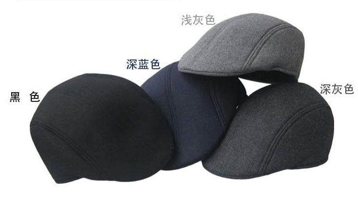 wool Peaked Newsboy Beret Visor Hat Cap Cabbie beret Gatsby Flat Cap(China (Mainland))