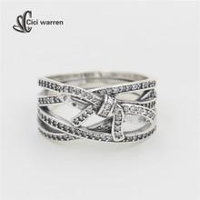 2016 Новая Мода нежный настроения кольцо Подлинная Стерлингового Серебра 925 Оптовая с марки штамп свадебные украшения RI025(China (Mainland))