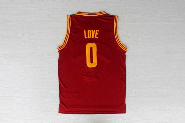 Sleeveless Basketball Shirt #0 Kevin Love Jersey New Material Stitched Logo Rev 30 Authentic - Max's fashion store