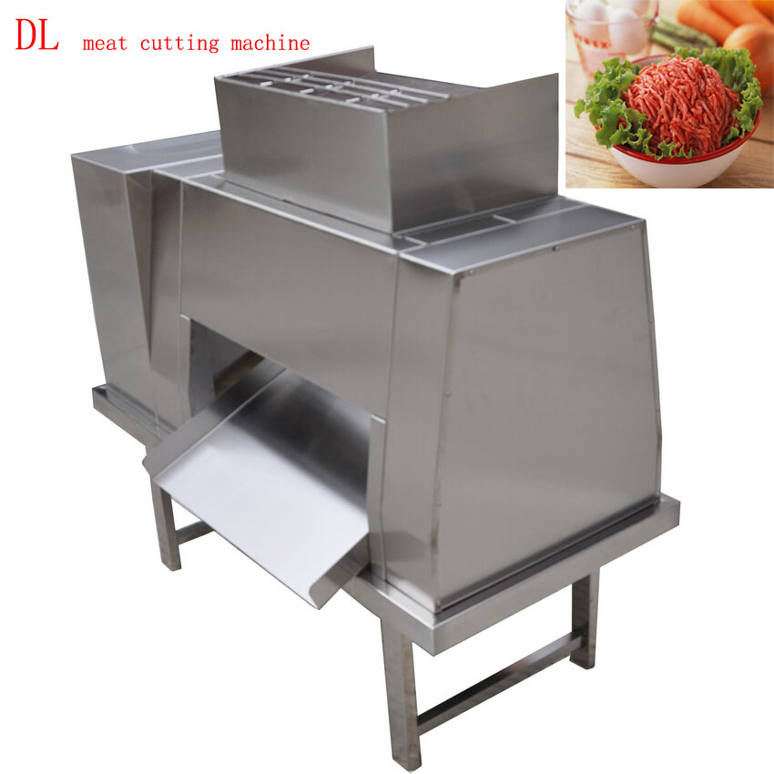 Free shipping by DHL 380v DL meat cutting machine, meat slicer, meat cutter, meat processing machine(China (Mainland))