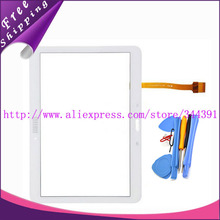 Original Touch Screen For Samsung Galaxy Tab 4 10.1 T530 T531 T535 With Digitizer Panel Glass White&Black +tools Free Shipping
