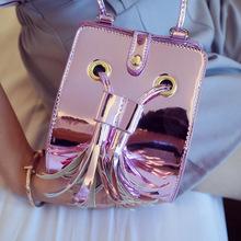 Buy Women Messenger Bags Fashion All-Match Crossbody Bags Women's Leather Handbag Shell Shoulder Bag Women Ladies Tassel Bag for $19.52 in AliExpress store