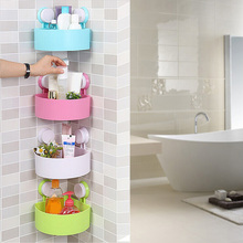 Bathroom Corner Shelves with Suction Cups