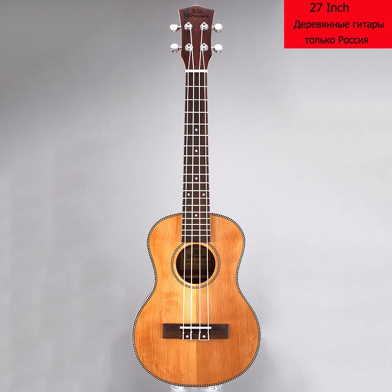 Фотография Fashion Wooden Guitar Musical Instruments Ukulele 27 Inch Guitar 4 Strings Ukelele Guitarra Rosewood Guitar Russia Only UT-63E