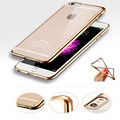 Ultra thin Soft TPU Electroplate Case For iPhone 6 6s 6s Plus Shockproof Silicone Case On