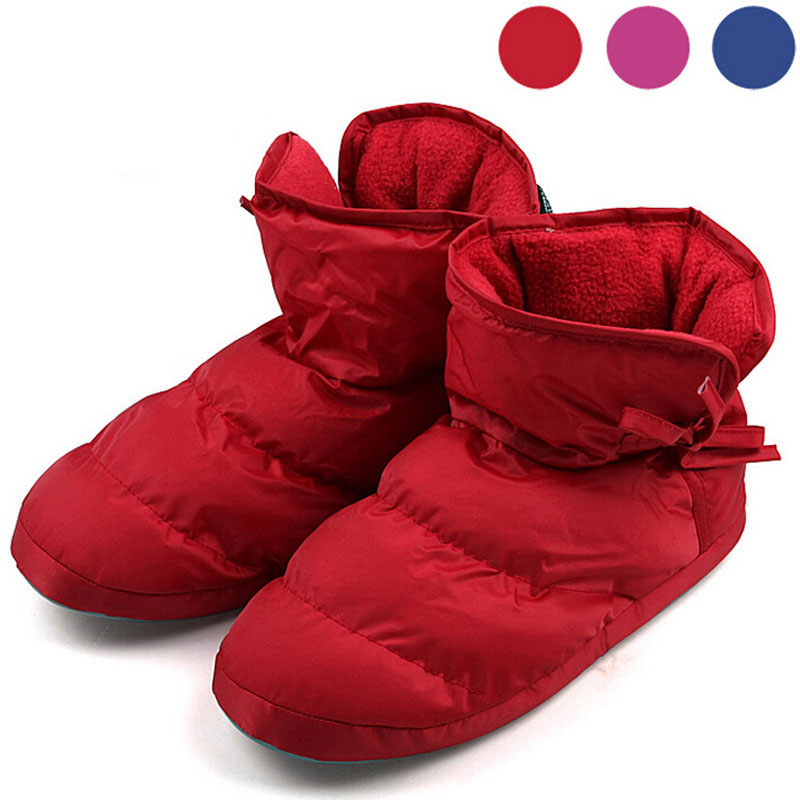 Гаджет  Home Winter Indoor Slippers Thermal Warm Padded Winter Slipper TPR Fabric Anti-slip Sloe with Fleece inside Large Size None Обувь