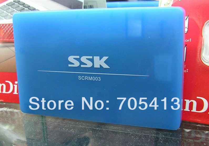 SSK XD TF MS SDHC SD MMC CF Card all in one card reader(China (Mainland))