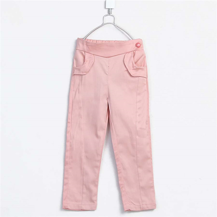 2015 spring and autumn new style baby girls fashion pencil pants little girls solid color pants A3220(China (Mainland))