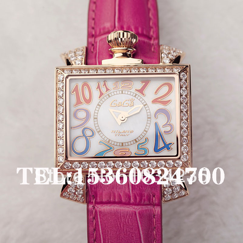 Autumn and winter gift watch ladies watch gaga the trend of fashion sparkling diamond luxury gaga watches(China (Mainland))