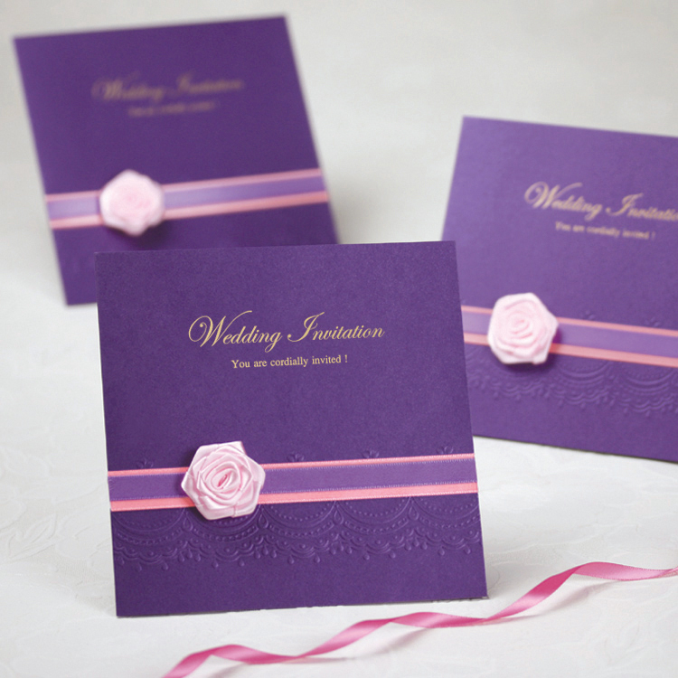 Online Get Cheap Wedding Card Invitation Rose Aliexpress – Online Wedding Card Invitation