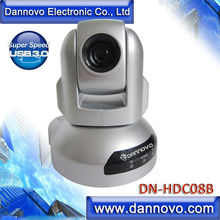 DANNOVO 1080P USB3.0 Video Conference Camera,10x Optical Zoom PTZ Web Conference Camera,Plug and Play,Support MAC OS,Skype,Lync