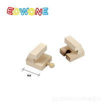 Beech Wood Thomas Train Circular Track Railway Vehicle Accessories Toys- 2PCS End Buffer For Wooden Railway(China (Mainland))