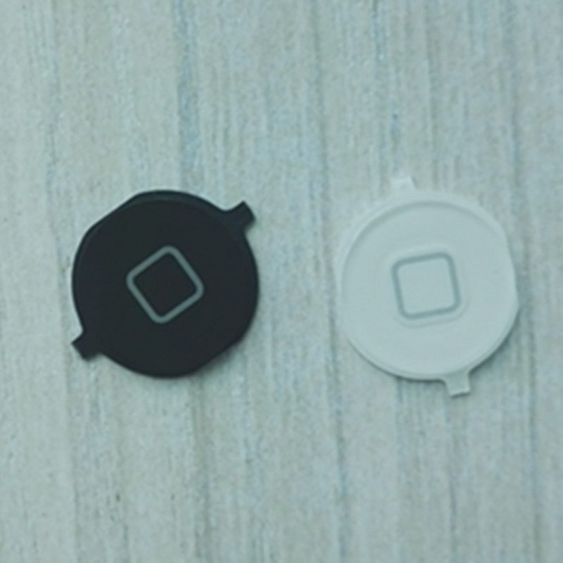 Black / White for APPLE iPhone 4s Home Button Keypad