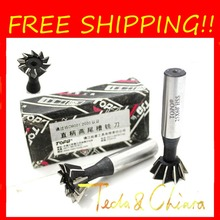 Buy Free shipping High Quality 2Pcs 14mm x 45 Degree HSS Straight Shank Dovetail groove slot Cutter End Mill for $12.89 in AliExpress store
