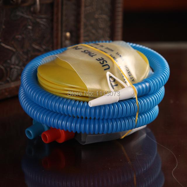 Надувной насос пластик баллон насос для латекс баллон и InflatableToys накачивайте нога насос баллон пневматический насос