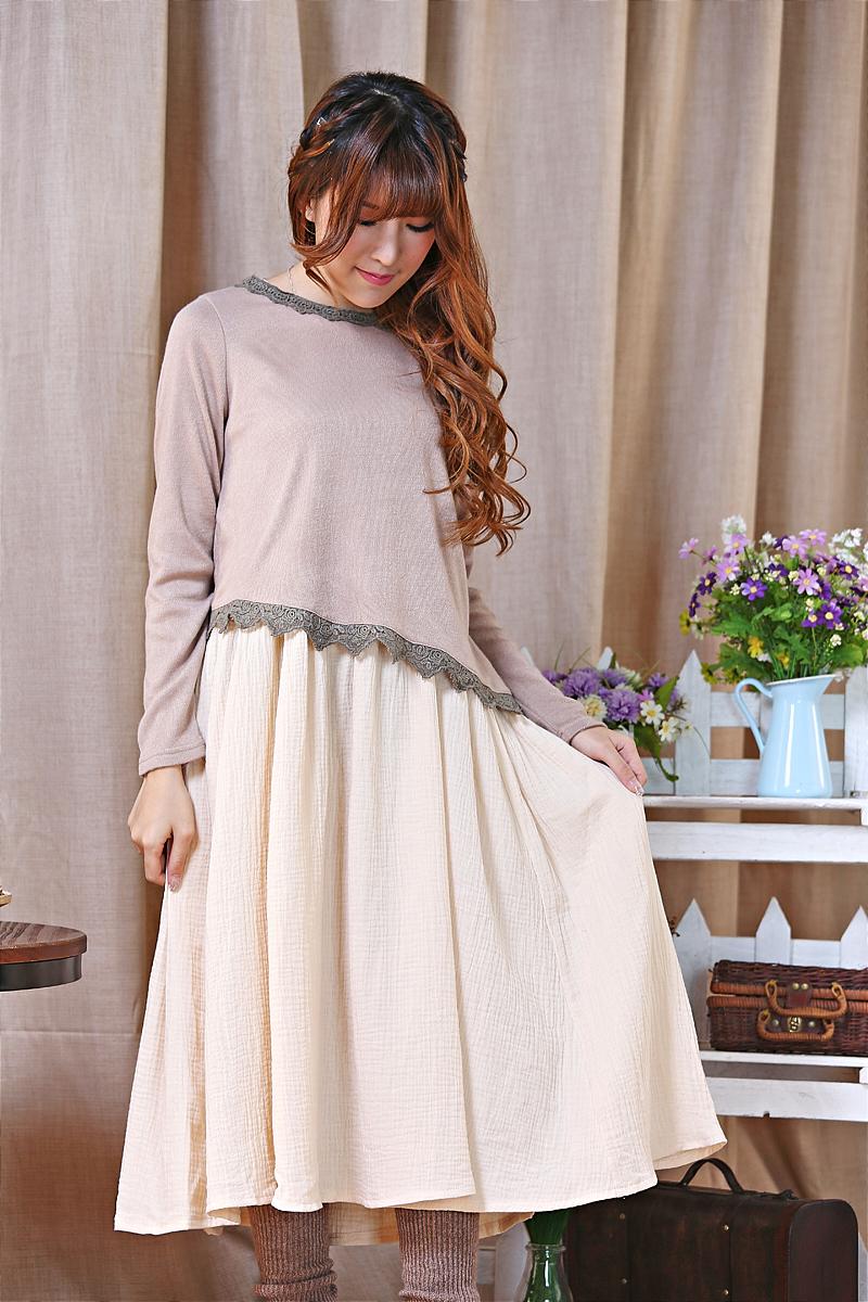 embroidery  mori girl harajuku vestidos linen knitted sevgili elbiseleri resmi gece elbisesi praia clothes sequin mujer dress
