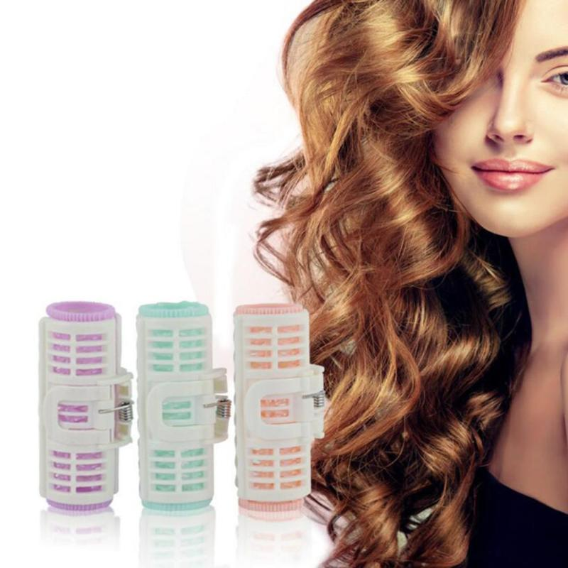 Plastic Hair Curler Roller Easy Curls Spiral Curls Styling Kit Party Hair work Hair Rollers set A6(China (Mainland))
