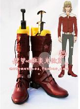 Tiger & Bunny Barnaby Brooks Jr cosplay shoes anime boots(China (Mainland))