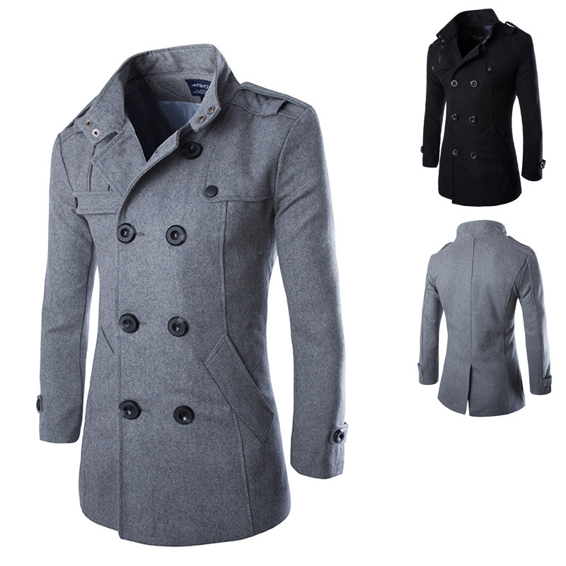 High Quality 100% Wool Coats for Men Promotion-Shop for High