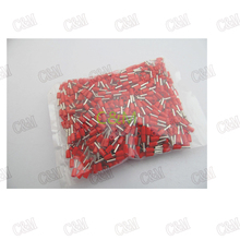 A Pack of 16AWG Insulated End Terminal Wire Copper Crimp Connector E1508(China (Mainland))