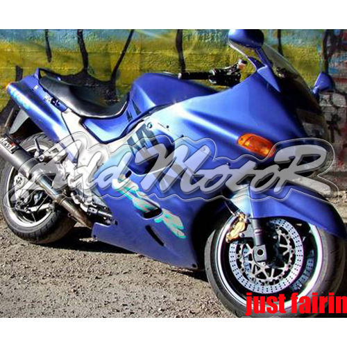 Free 5 Gift ABS Blue Handcrafted Fairing Fit Ninja ZX-11 93 03 ZZR1100D Cover Race Seat Body Work Side bb03(China (Mainland))