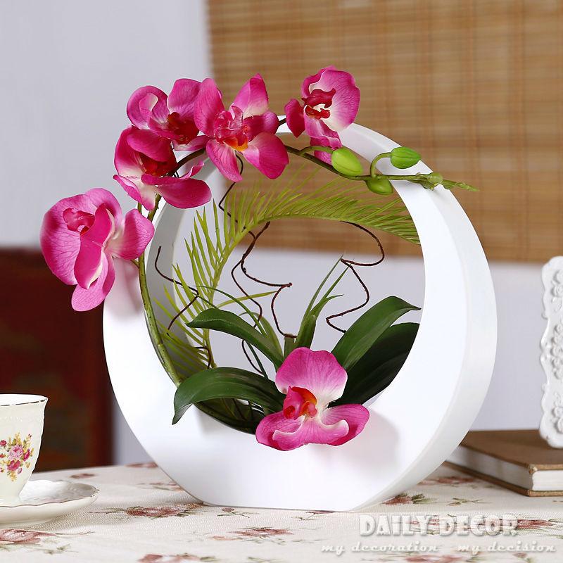 Compra arreglos florales de orqu deas online al por mayor - Plantas artificiales baratas ...