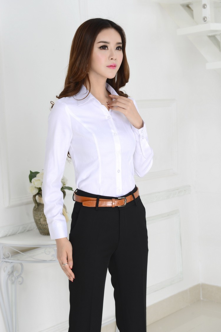 Formal White Blouse | Fashion Ql