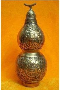 Gossip copper bottle gourd turn very/prevent disaster