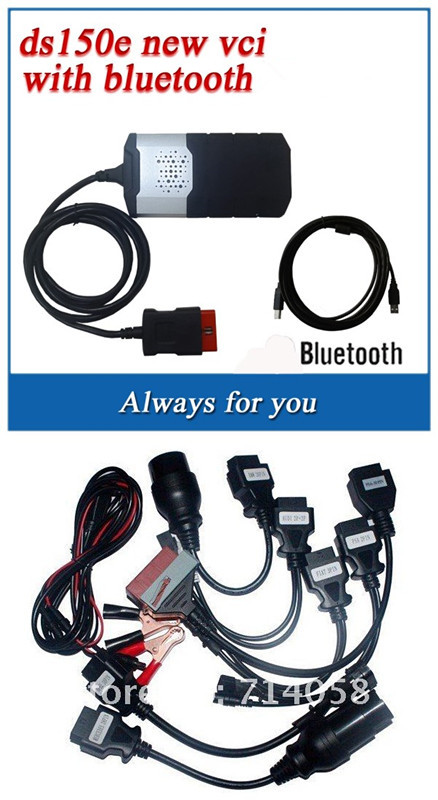 2014 New Design competitive price tcs cdp pro LED 3 1 keygen software bluetooth DS150E VCI full set car cables