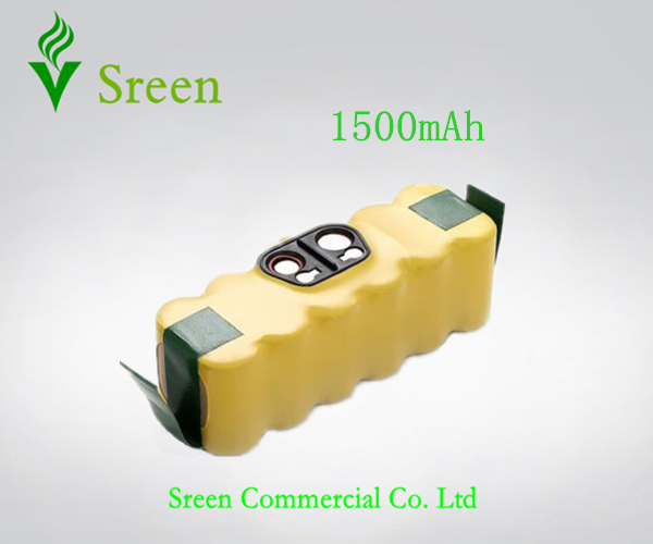 New Spare 14.4V Ni-CD 1500mAh Vacuum Cleaning Rechargeable Battery for iRobot Roomba 530 510 532 550 540 500 530 80501 610 R3(China (Mainland))