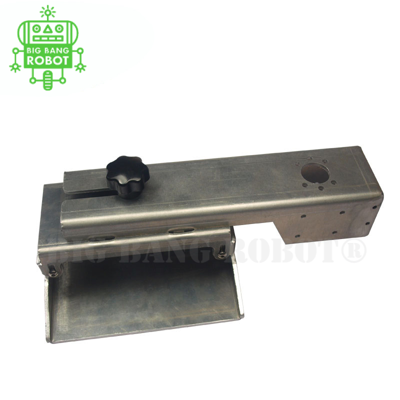 Z axis build plate for Form DLP 3D printer parts DIY Form Z axis aluminum build platform kit silver anodized