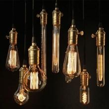 Hot Sale High Quality B22 G80/G95/G125/A19 60W 110/220V Filament Light Bulb Chandelier Vintage Retro Antique Lamp(China (Mainland))