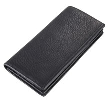 20pcs/lot Leather Black Mens Wallet