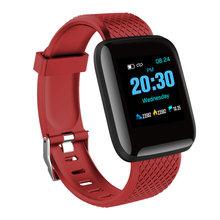 Smart watch mężczyźni ciśnienie krwi wodoodporny Smartwatch kobiety pulsometr zegarek z trackerem fitness sportowy GPS dla androida IOS(China)