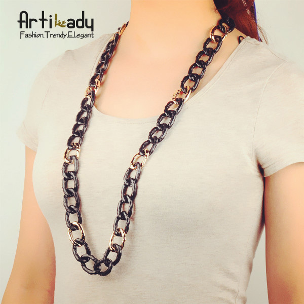 Artilady hot sale  chain necklace jewelry  2015 women jewelry