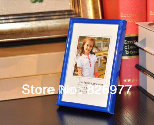 Plastic photo frame for home decor simple photo frame design CC1116(China (Mainland))