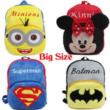 Lovely! New 2015 Plush Kid Bag Backpack Children School Bag For Girl Boy Student School Backpack Mochila Infantil(China (Mainland))