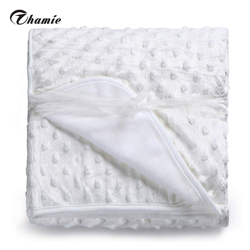 Baby Blanket Newborn Thermal Soft Fleece Blanket & Swaddling Bedding Set(China (Mainland))
